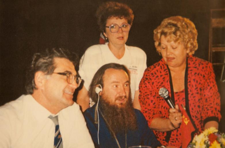 Встреча с представителями русского и абхазского землячества в США, 1978 год