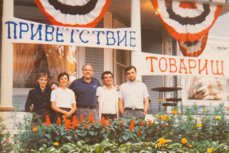 Приезд представителя Абхазии Тараса Шамба в США