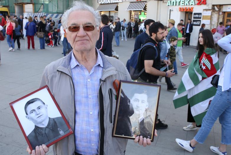 Тарас Шамба − участник акции