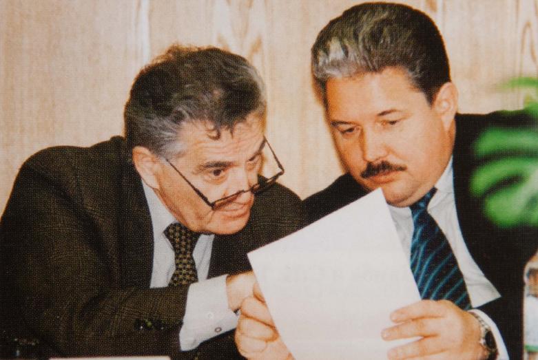 Тарас Шамба и Сергей Бабурин, 2003 год