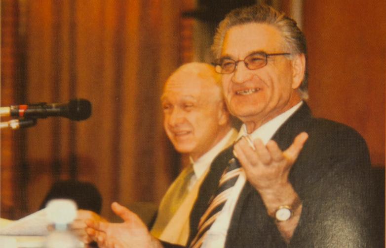 Тарас Шамба во время заседания Ученого совета РГТЭУ
