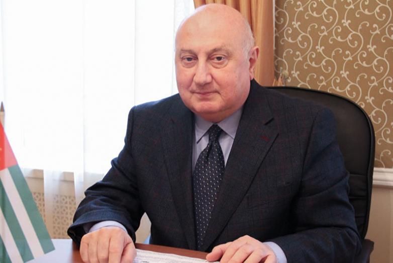 Чрезвычайный и полномочный Посол Абхазии в России Игорь Ахба