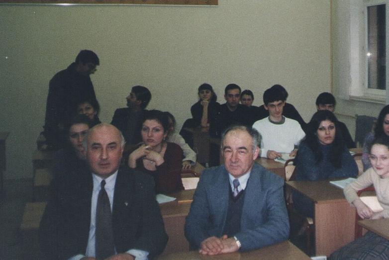 Игорь Ахба, Юрий Аргун, Абхазская воскресная школа, 1997 год