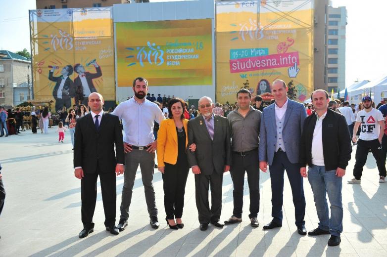Армида Чагова с руководителями национальных культурных автономий