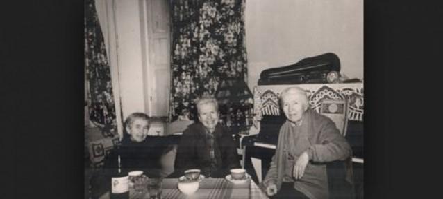 Сестра Варвара, Мария и Анна Бубновы