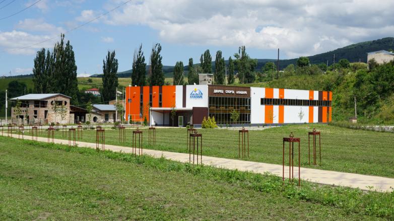 Спорткомплекс «Алашара» в селе Красный Восток