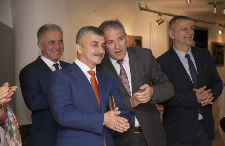 Mussa Ekzekov during the visit of the WAC delegation to the Republic of Turkey and meetings with compatriots, May 2018