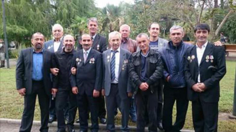 Добровольцы, ветераны Отечественной войны народа Абхазии 1992-1993 годов