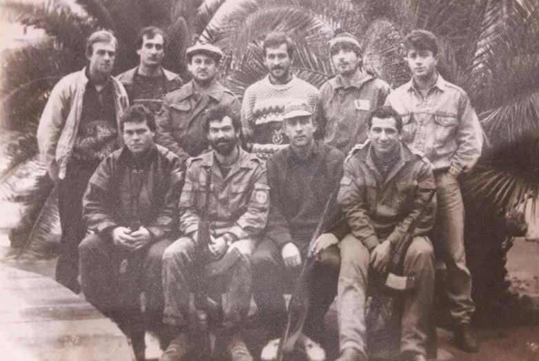 Добровольцы из Северного Кавказа