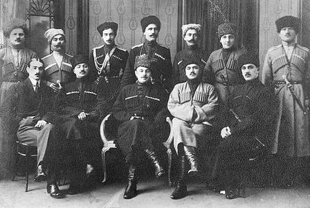 Лидеры Горской республики