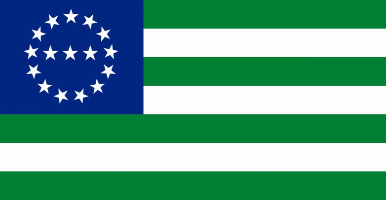 Флаг Конфедерации горских народов Кавказа