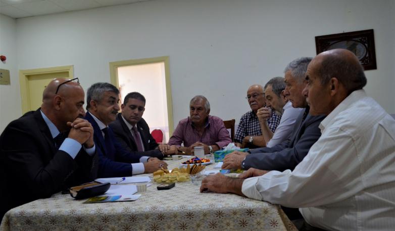 Встреча Муссы Экзекова в общественной организации «Диуан Абаза» в Иордании