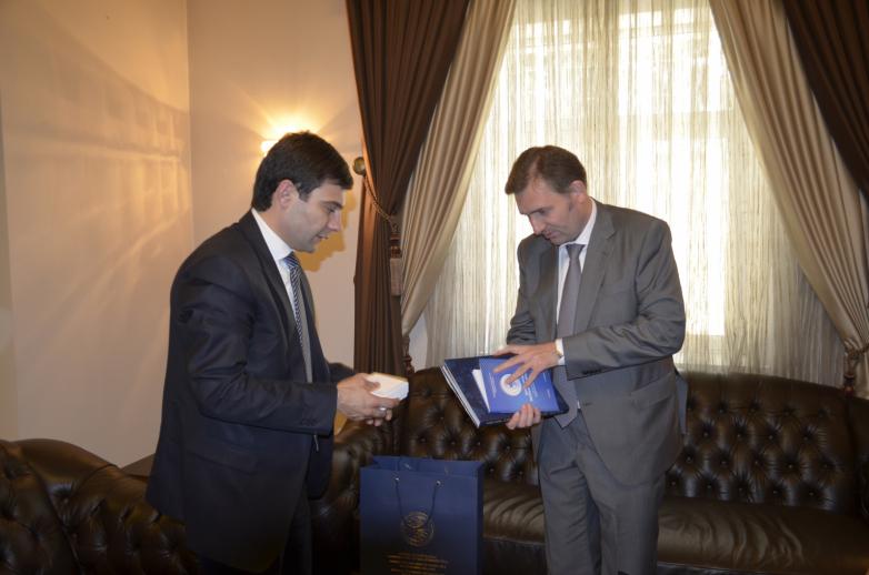 Делегация ВААК на встрече с руководством посольства Российской Федерации в Иорданском Хашимитском королевстве