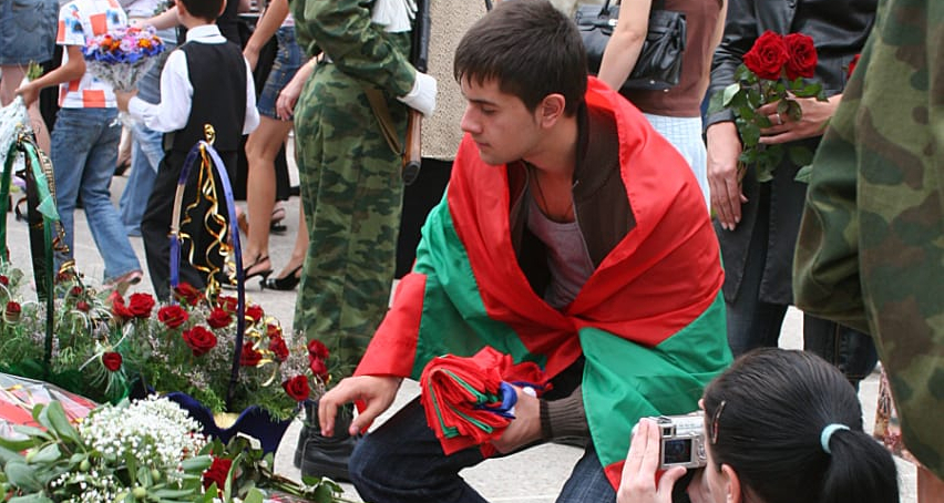 On the day of the international recognition of the independence of Abkhazia in 2008, people laid flowers in the Park of Glory, where the people of Abkhazia who died during the PWPA rest. Since then, every August 26 begins throughout the Republic with the laying of flowers at the monuments to those killed in the PWPA