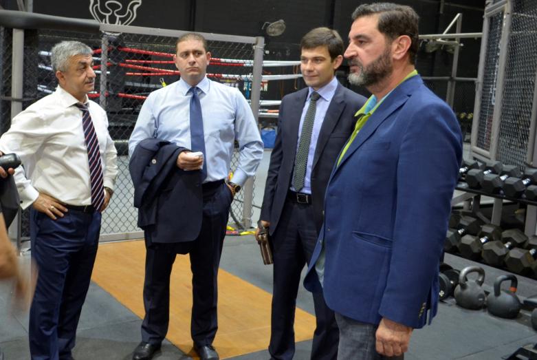 Мусса Экзеков и руководитель спортивного клуба в Аммане обсудили сотрудничество