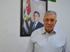 "The head of ""Diwan Abaza"" in Jordan, Hasan Abaza (Chichba)"