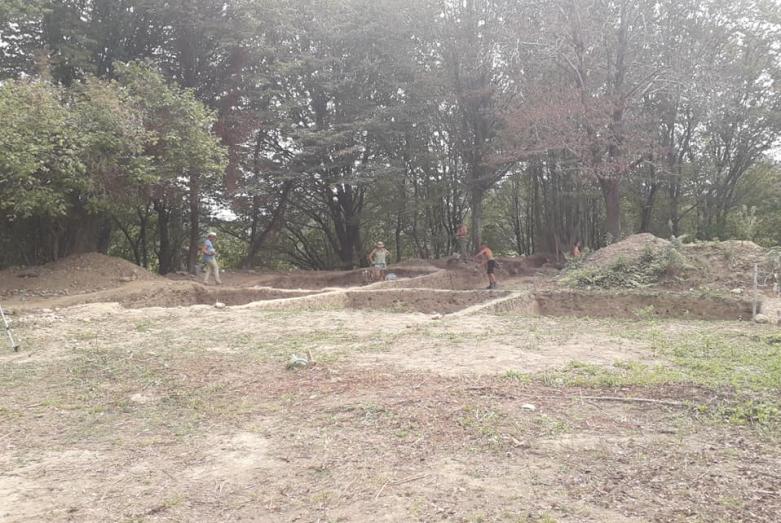 Раскопки Джантухской археологической экспедиции