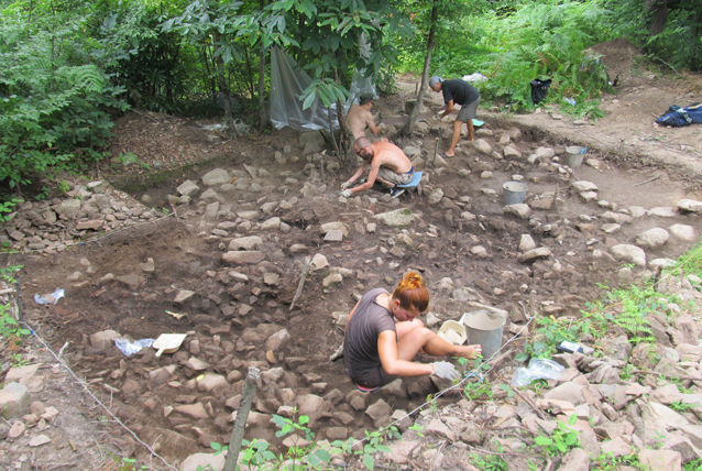 Excavations of the Jantuh archaeological expedition, 2017