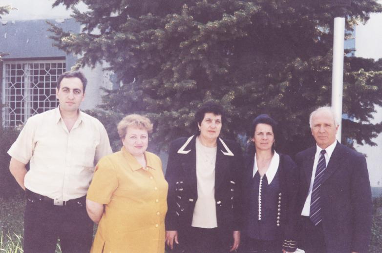 Магомет Кишмахов с представителями рода Берзек в Нальчике