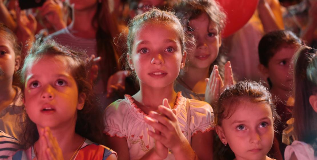А это – самые юные зрители концерта