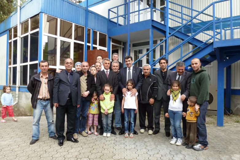 Suriye'den gelen ilk mülteci grubuyla görüşme. Suhum, 2012 yılı