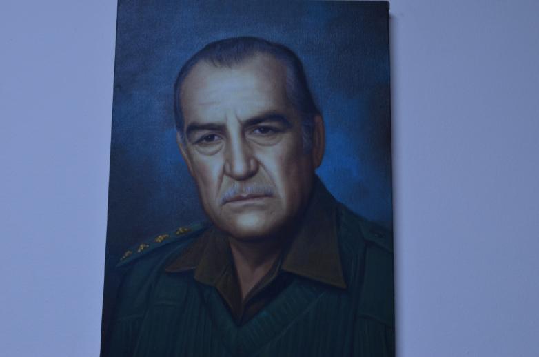 Отец Азиза Абаза (Мхце), Хайрилдин Абаза (Мхце)
