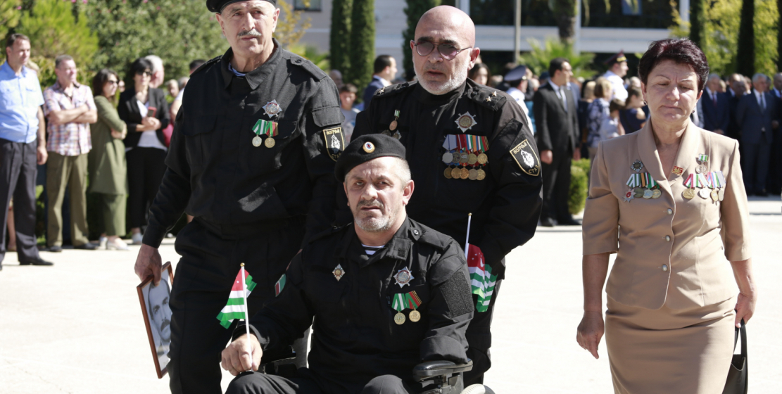 Many volunteers come to Abkhazia that day to remember their comrades who died in defense of the Abkhaz land.
