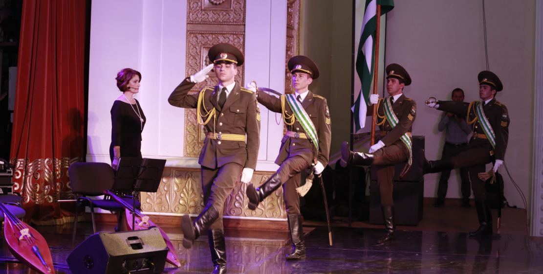 The festive evening continued with a gala concert, which was held at the State Philharmonic.