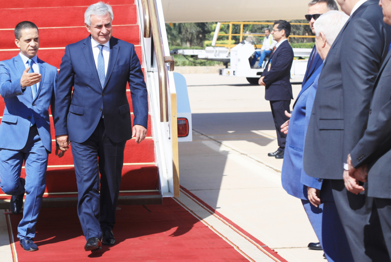 Официальный визит президента Рауля Хаджимба в Сирию