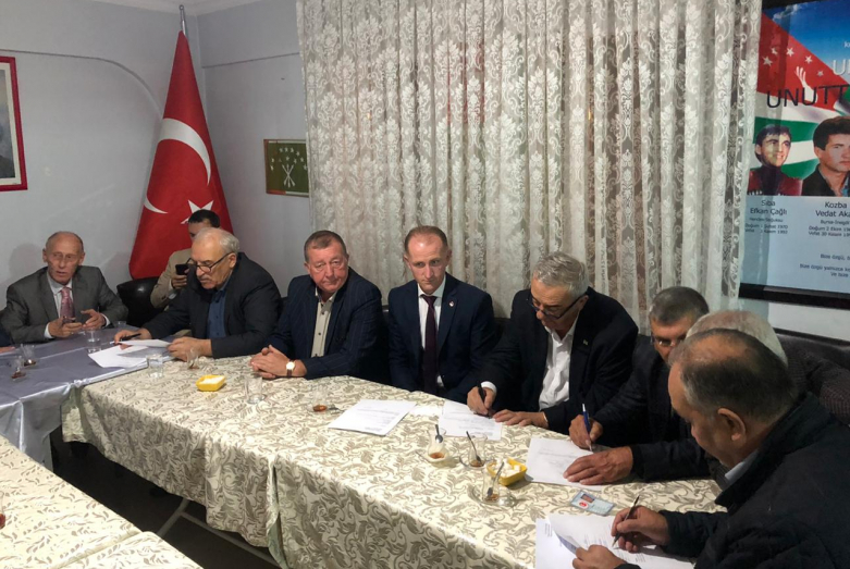 In the city of Inegol, the Republic of Turkey, a meeting was held with representatives of the Abkhaz-Abaza ethnic group.