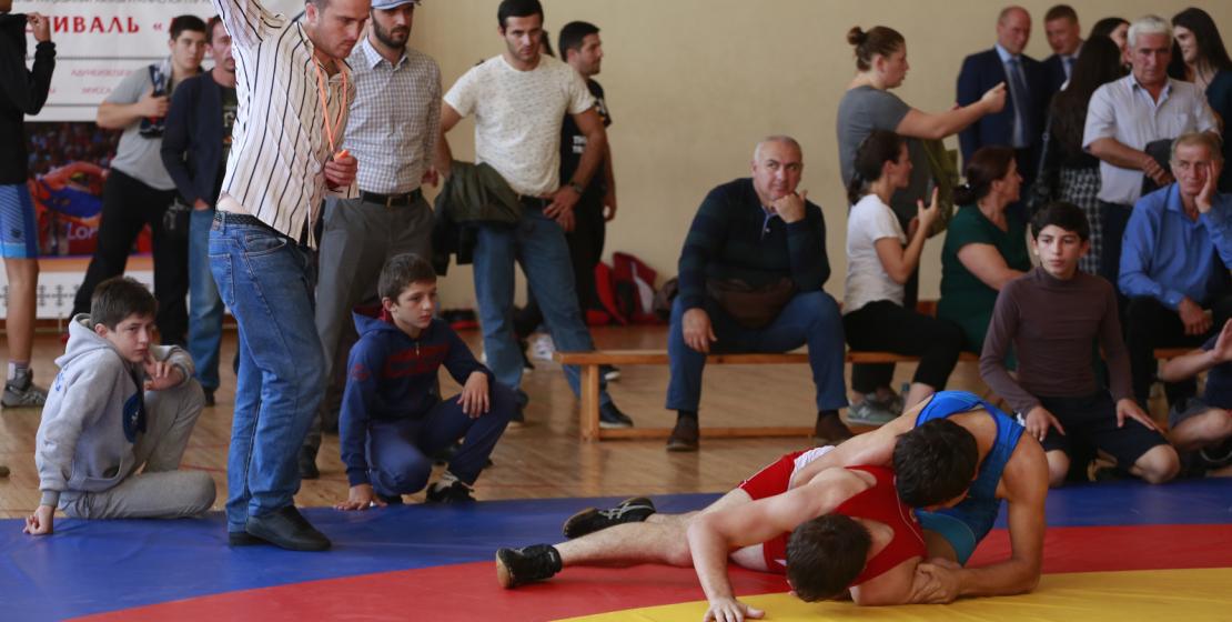 За время турнира были проведены десятки поединков.