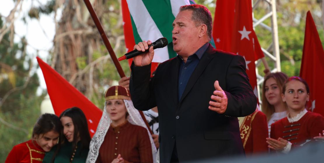 الفنان المكرم لجمهورية أبخازيا زاور زوخبا.
