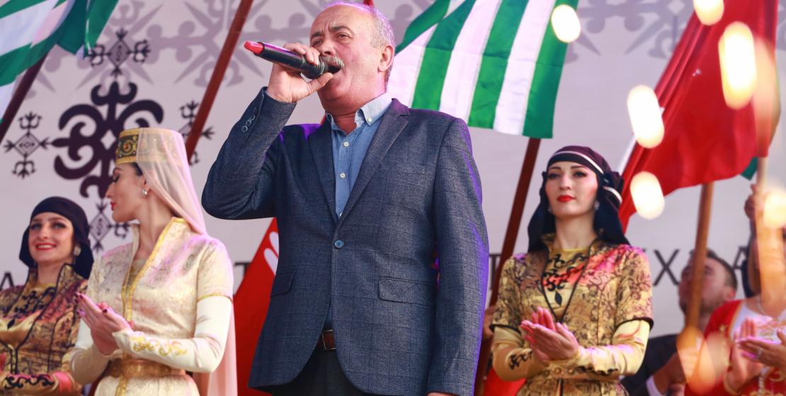 الفنان المكرم لجمهورية أبخازيا روستان كونجاريا.