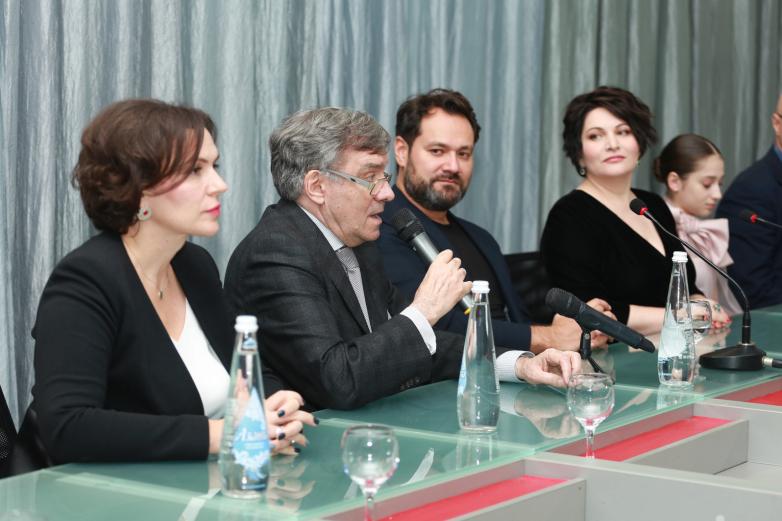 Пресс-конференция, посвященная XVII Международному музыкальному фестивалю «Хибла Герзмава приглашает»