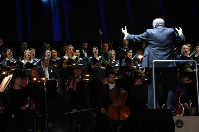 Абхазская народная песня «О ранении» в исполнении Академического Большого хора «Мастера хорового пения»