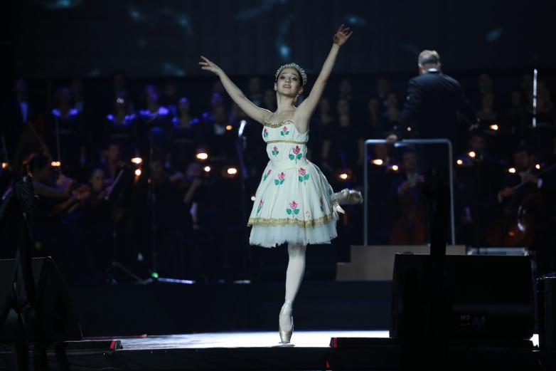 Юная балерина Кристина Чкотуа