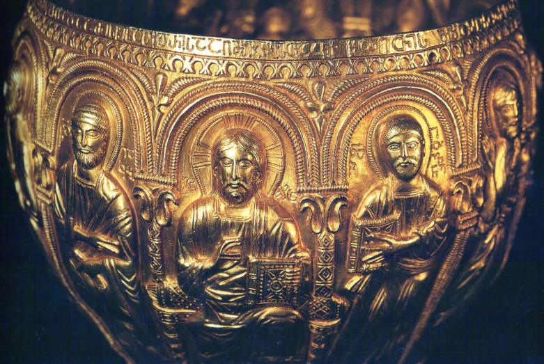 Golden chalice from the Bedia temple