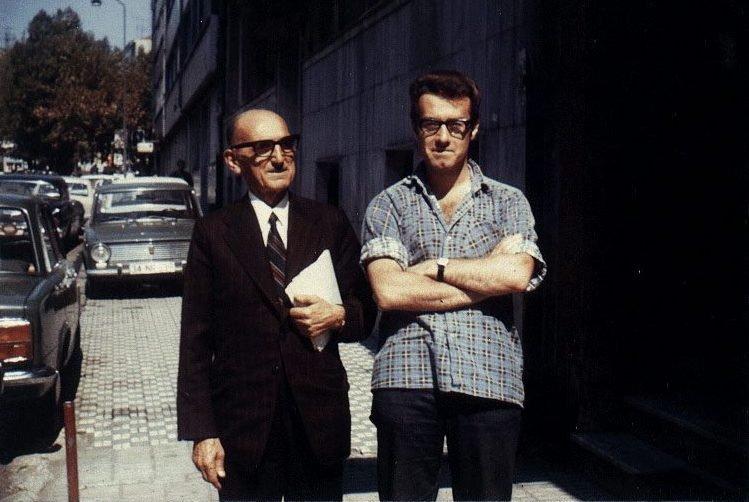 Джордж Хьюитт с Тевфиком Эсенч, Стамбул, лето 1974 года