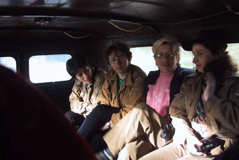 Аида Хәанелиа, Марина Барцыц, зыхьӡ дырым, Иулиа Багаҭелиа, Кәыдры, 2001 шықәса