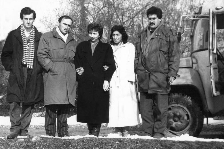 Аида Хәанелиа, Ҭали Џьапуаԥҳа, Инна Ҳаџьымԥҳа, Марина Барцыц, Адгәыр Амԥар