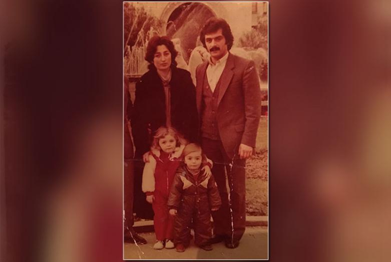Инна и Валерий Багателия с детьми Радой и Ренатой