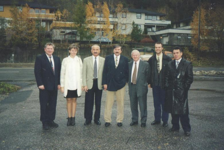 Межпарламентское сотрудничество в Норвегии, Осло 1996 год