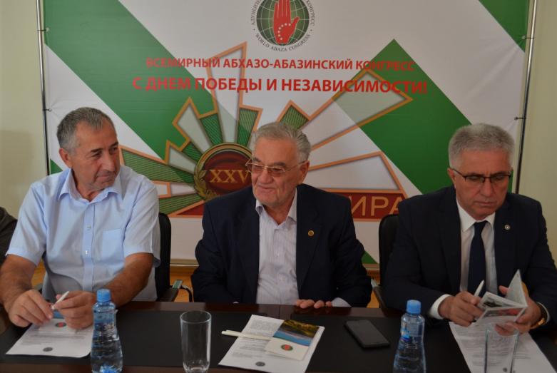Мурадин Урчуков, Тарас Шамба и Беслан Дбар