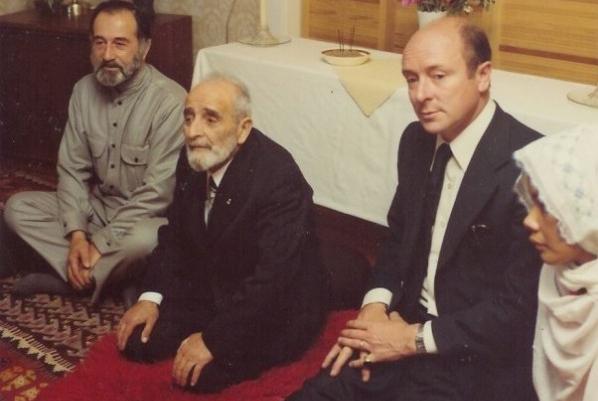 Слева направо Мурат Яган, Сулейман Деде и Решад Фейлд