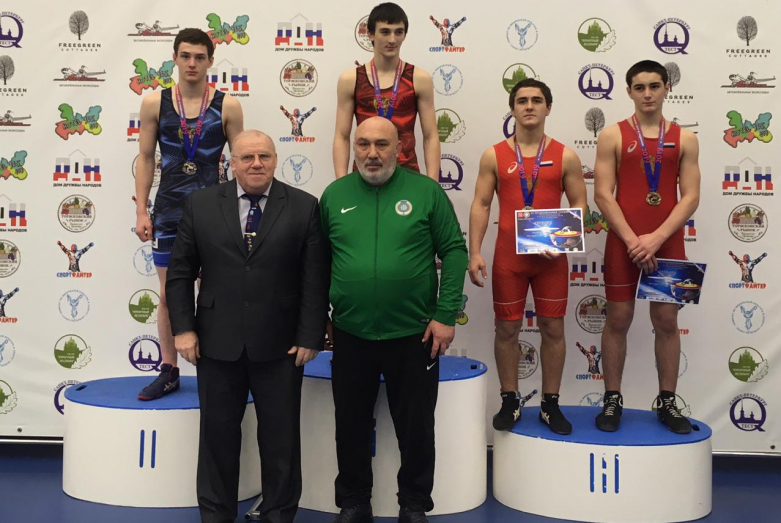 """Disciples of the """"Abaza"""" freestyle wrestling club won prizes in the tournament in St. Petersburg"""