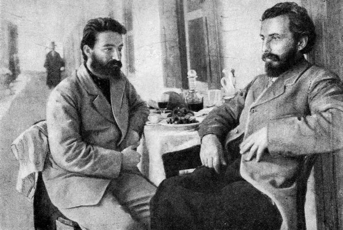 Иван Джавахишвили и Николай Марр на Синае, 1902 год