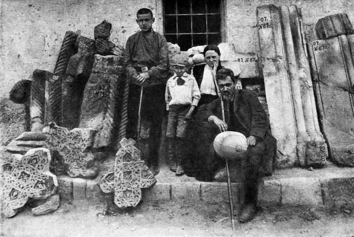 Николай Марр семьей в Ани, 1907 год