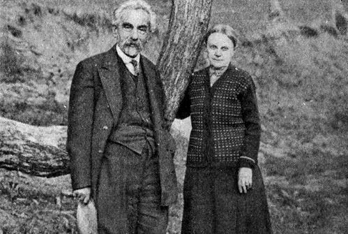 Николай и Александра Марр в Абастумани, Грузия 1932 год