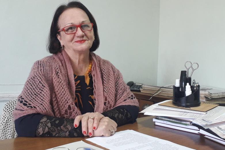 """Journalist of the """"Abazashta"""" newspaper Asya Dzherdisova"""