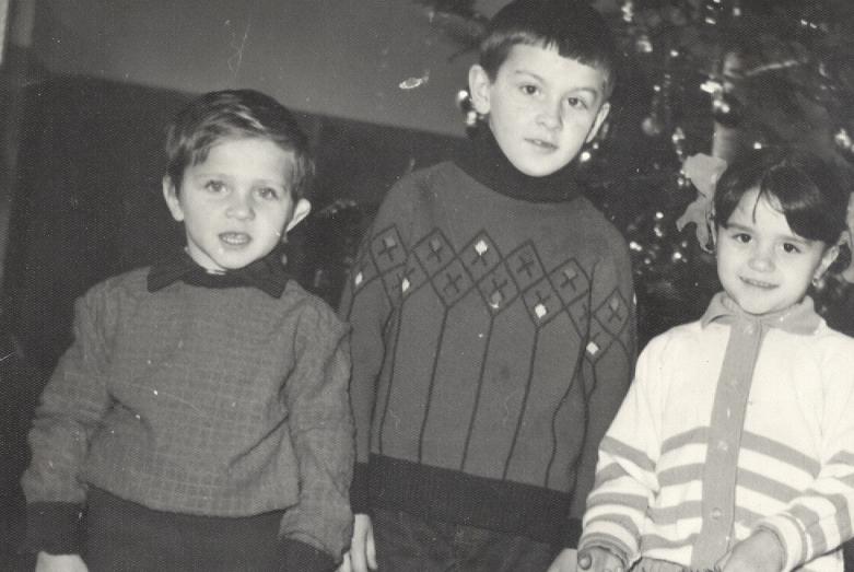 İsmel Bıc'ın çocukları - Muhammet, Ahmet ve Marina